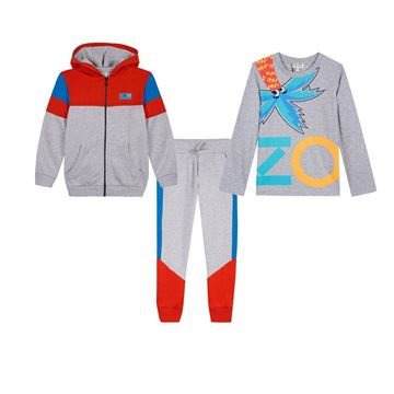 Picture of Kenzo Boys 3 Piece Tracksuit
