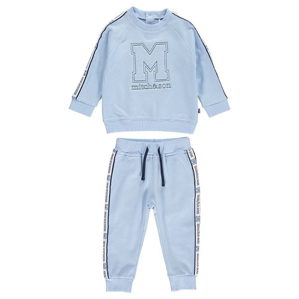 Picture of Mitch & Son Pale Blue Tracksuit