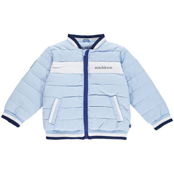 Picture of Mitch & Son Pale Blue Bomber