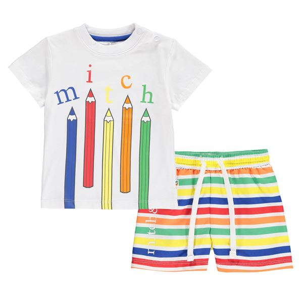 Picture of Mitch & Son 'Pencil' Swim Short Set