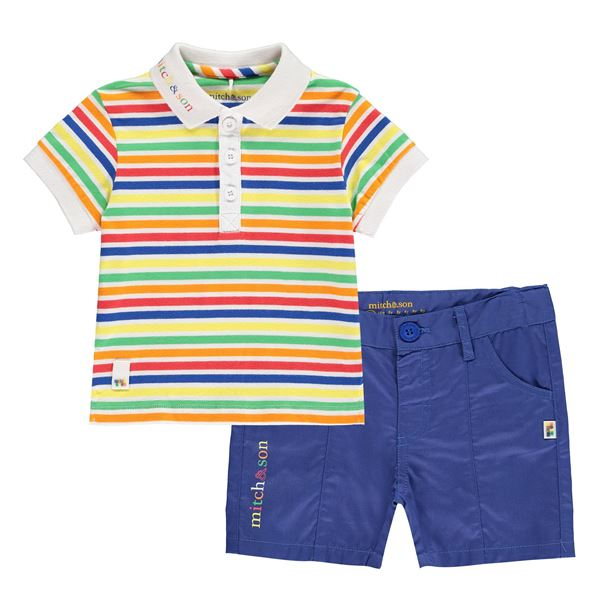 Picture of Mitch & Son 'Pencil' Striped 2 Piece Set