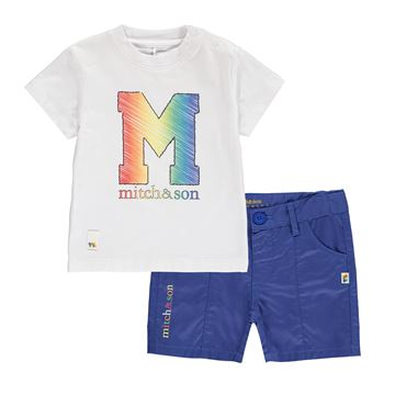 Picture of Mitch & Son 'Pencil' White 2 Piece Set