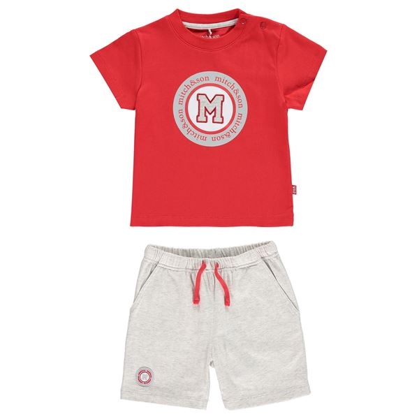 Picture of Mitch & Son Red 2 Piece Set