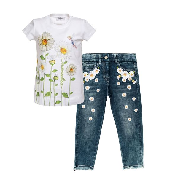Picture of Monnalisa Daisy Top & Jeans
