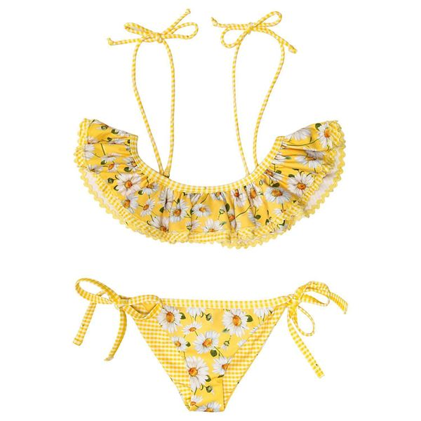 f90441e970 Monnalisa Yellow Daisy Bikini. Melanie Louise