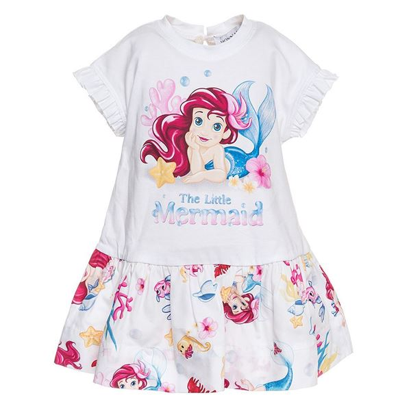 Picture of Monnalisa Baby 'Ariel' Print Dress
