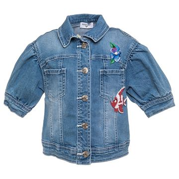 Picture of Monnalisa 'Ariel' Denim Jacket