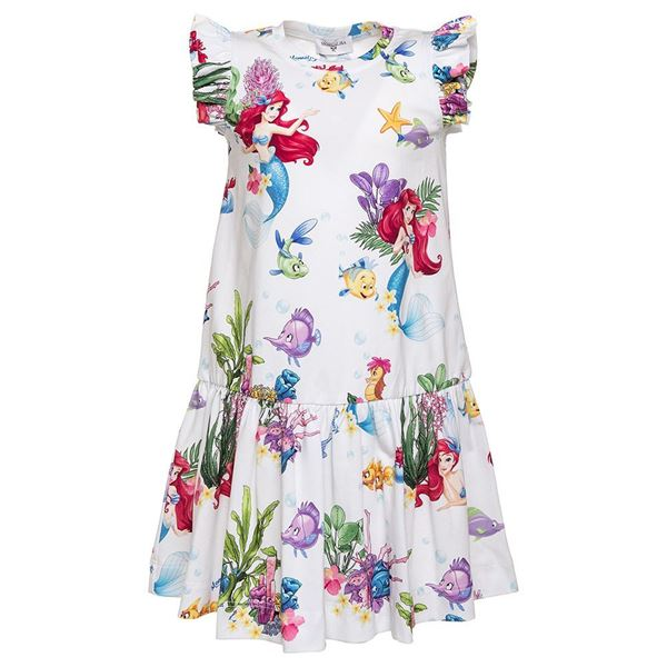 Picture of Monnalisa 'Ariel' Print Dress