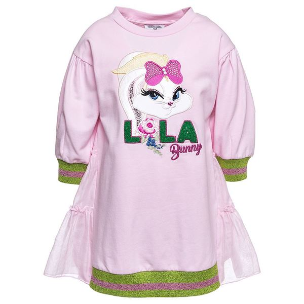 Picture of Monnalisa 'Lola' Pink Dress