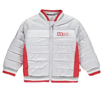 Picture of Mitch & Son Grey Bomber Jacket