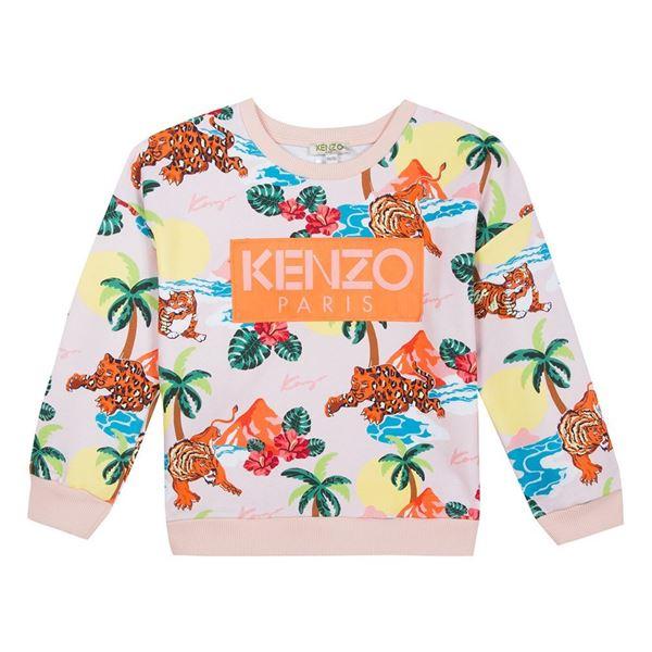 Picture of Kenzo Girls Jungle Print Jumper