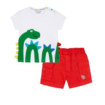 Picture of Paul Smith Baby Snake T-Shirt & Shorts