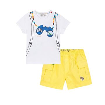 Picture of Paul Smith Baby Glasses T-Shirt & Shorts