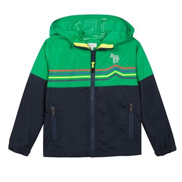 Picture of Paul Smith Green & Navy Jacket