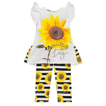 Picture of Ariana Dee Sunflower Leggings Set