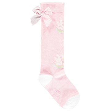Picture of Ariana Dee 'Waterlily' Pink Knee Socks
