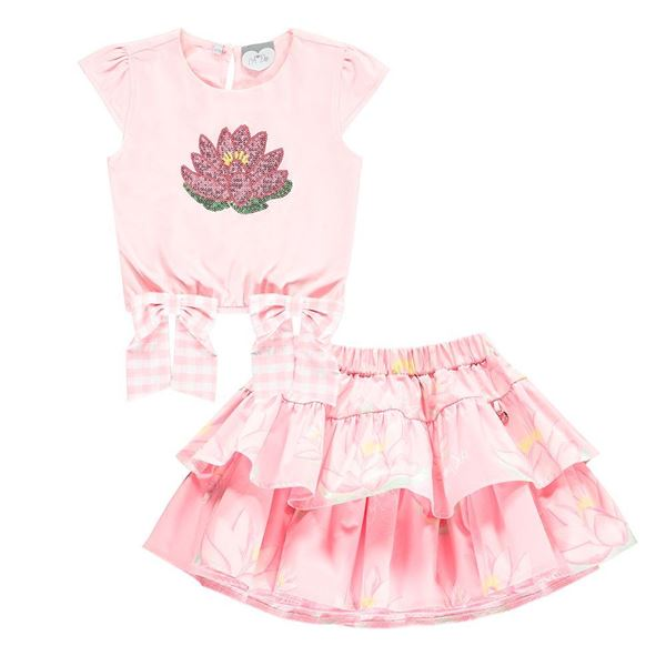 Picture of Ariana Dee 'Waterlily' Skirt Set