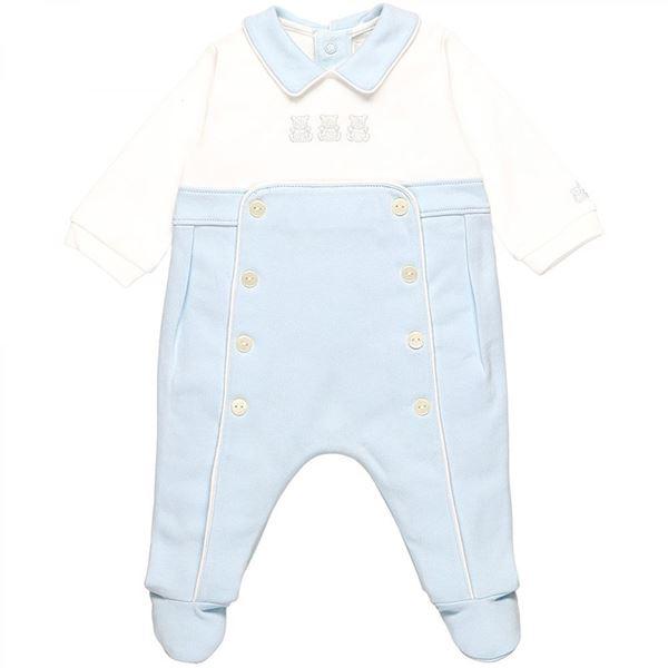 Picture of Emile Et Rose 'Penley' Baby Blue Romper