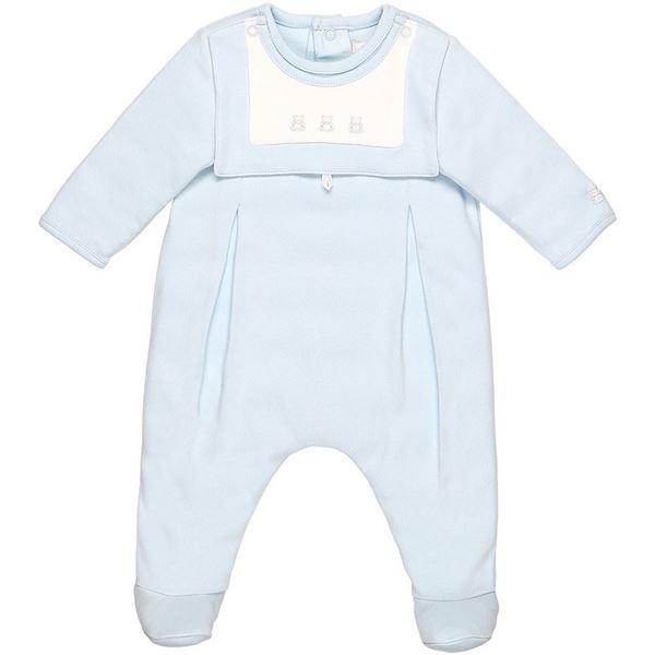 Picture of Emile Et Rose 'Palmer' Baby Blue Romper