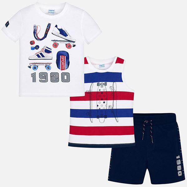 Picture of Mayoral Navy 3 Piece Sport Set