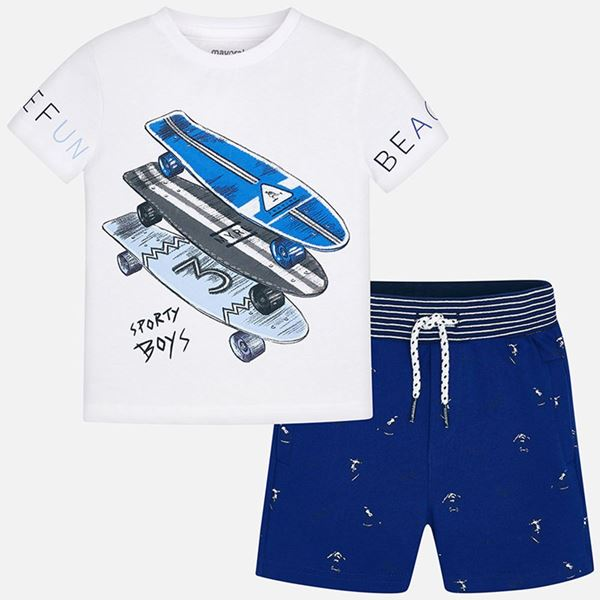 Picture of Mayoral Blue 2 Piece Beach Set