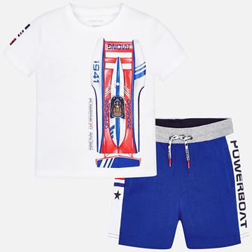 Picture of Mayoral Blue 2 Piece Racing Set