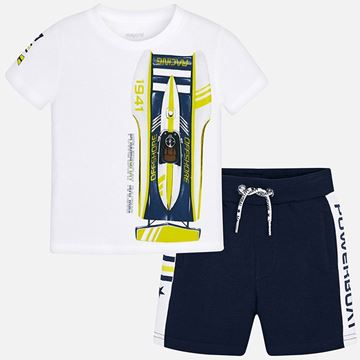 Picture of Mayoral Navy 2 Piece Racing Set
