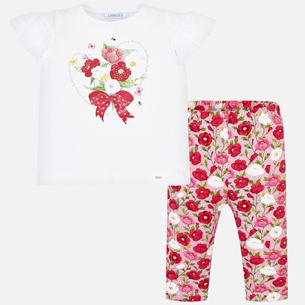 Picture of Mayoral  Flower 2 Piece Leggings Set