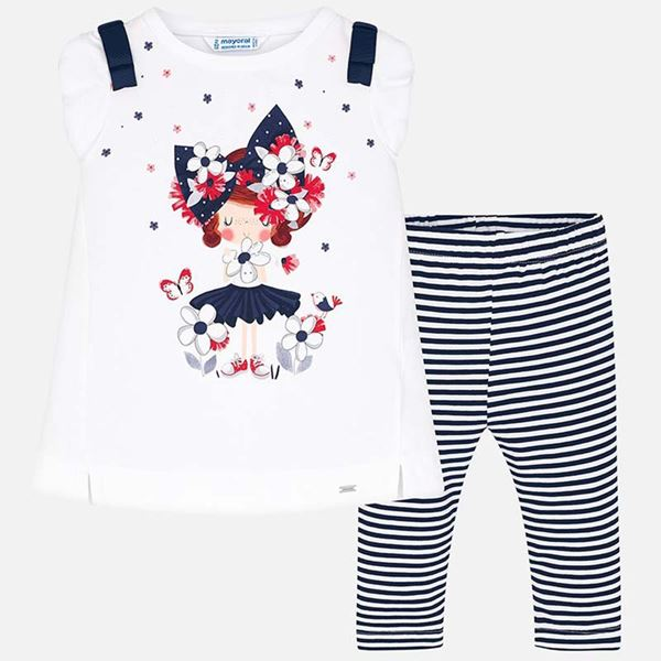 Picture of Mayoral Doll 2 Piece Leggings Set