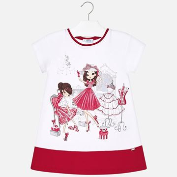 Picture of Mayoral Dolls Red Dress