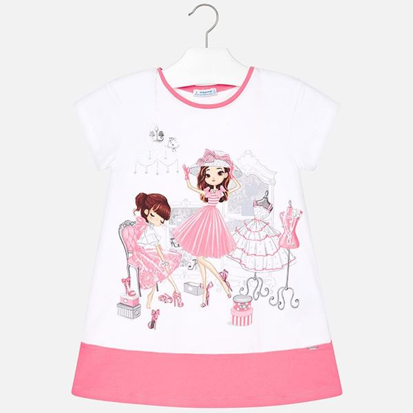 Picture of Mayoral Dolls Pink Dress