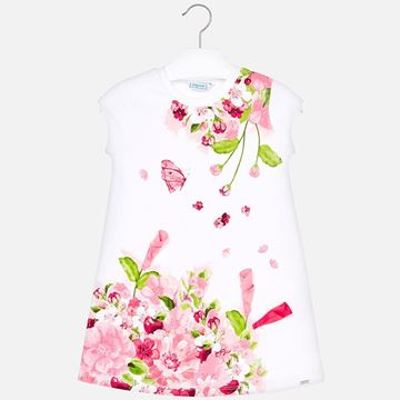 Picture of Mayoral Pink Flower Dress
