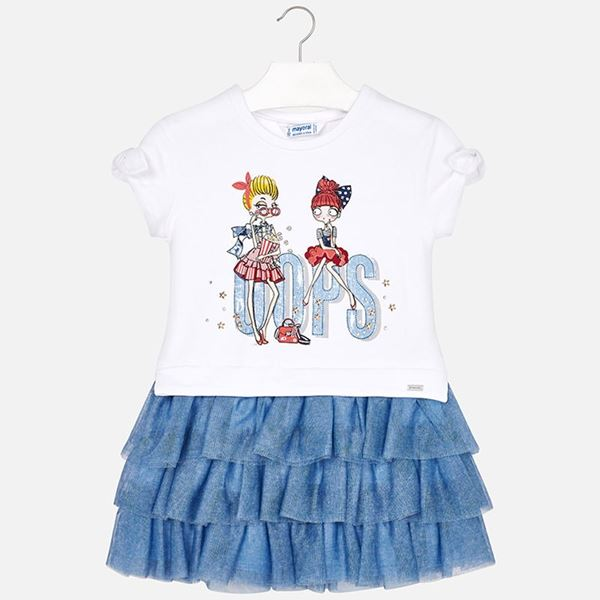 Picture of Mayoral Tulle Dress