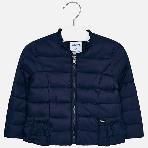 Picture of Mayoral Girls Navy Padded Jacket