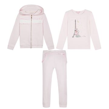 Picture of Lili Gaufrette Pink 3 Piece Tracksuit