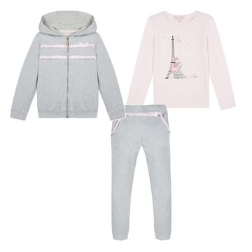 Picture of Lili Gaufrette Grey 3 Piece Tracksuit
