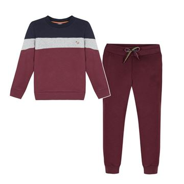 Picture of Paul Smith Maroon Tracksuit