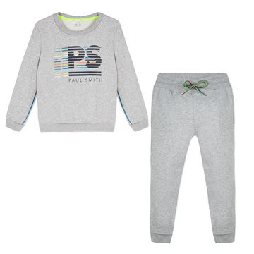 Picture of Paul Smith Grey Logo Tracksuit