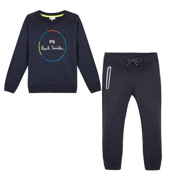 Picture of Paul Smith Navy Logo Tracksuit
