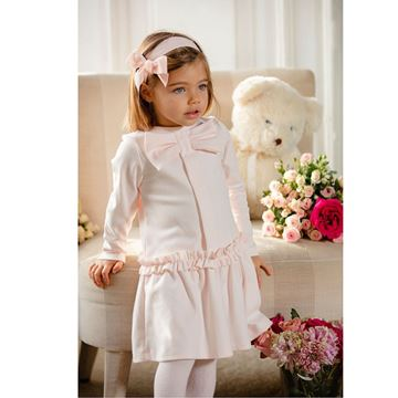 Picture of Patachou Girls Pink Bow Dress