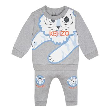Picture of Kenzo Baby Boys Grey Set