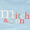 Picture of Mitch & Son Blue 'Mitch' Tracksuit
