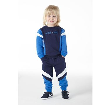 Picture of Mitch & Son Navy 2 Piece Tracksuit