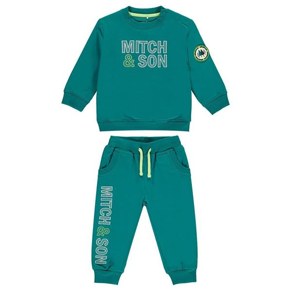 Picture of Mitch & Son Teal Green Tracksuit