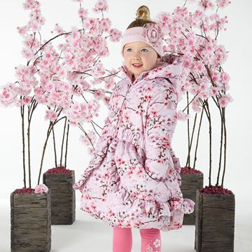 Picture of Ariana Dee Pink Blossom Coat