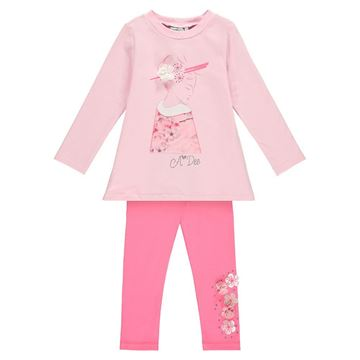 Picture of Ariana Dee Pink Leggings Set