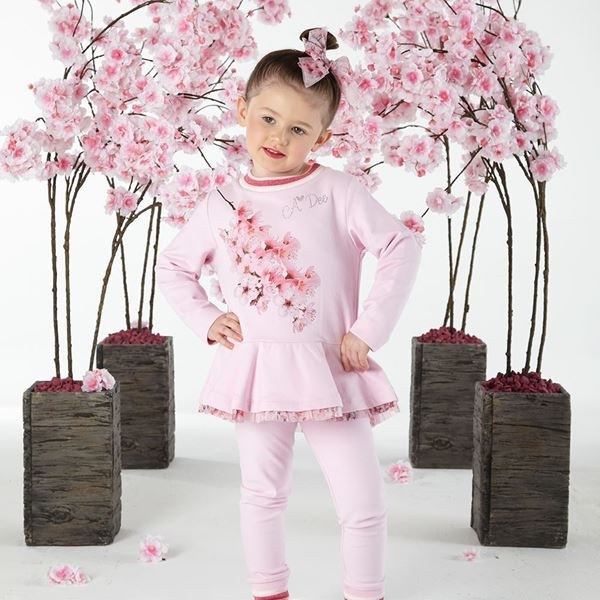 Picture of Ariana Dee Pink Blossom Tracksuit