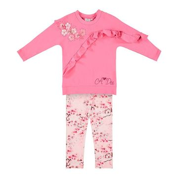 Picture of Ariana Dee Pink Jumper & Leggings Set