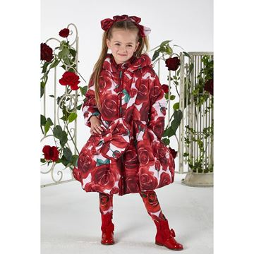 Picture of Ariana Dee Red Rose Coat