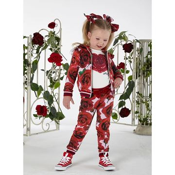 Picture of Ariana Dee Red Rose Tracksuit